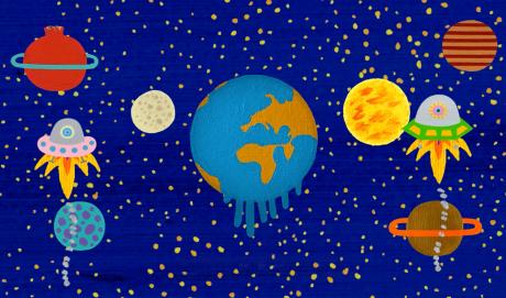 Fotogramas animación Save the planet