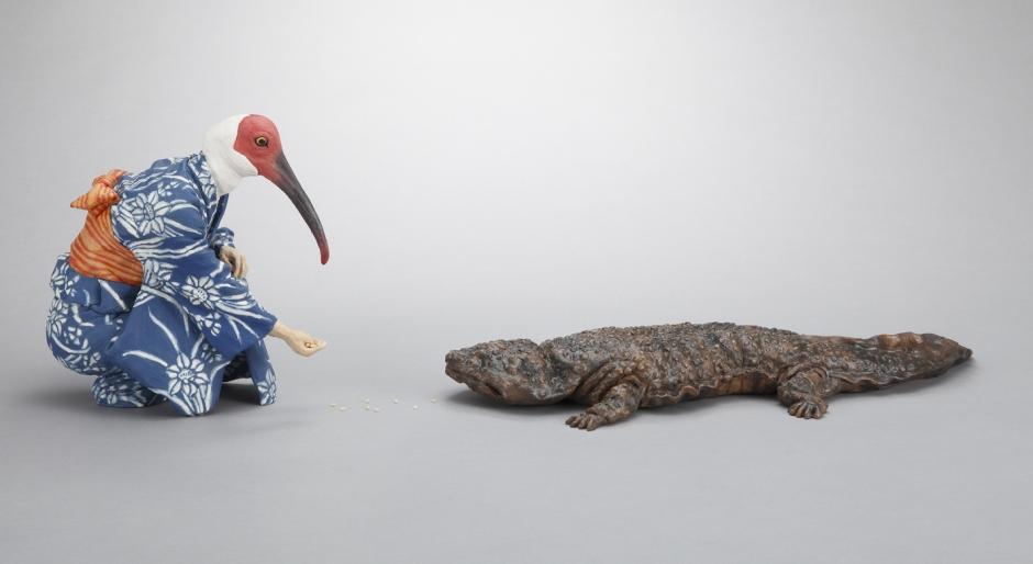 Alessandro_Gallo_Nausicaa_Japan_Crested_Ibis_Giant_Salamander_Yukata