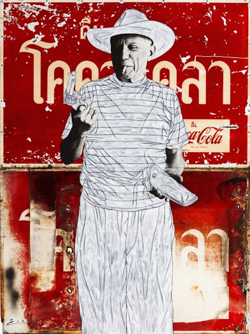 picasso-and-gun-on-coke1