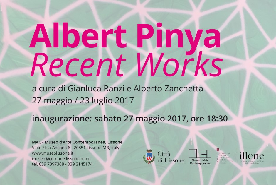 1_Flyer MAC_Albert Pinya_Recent Works_2017