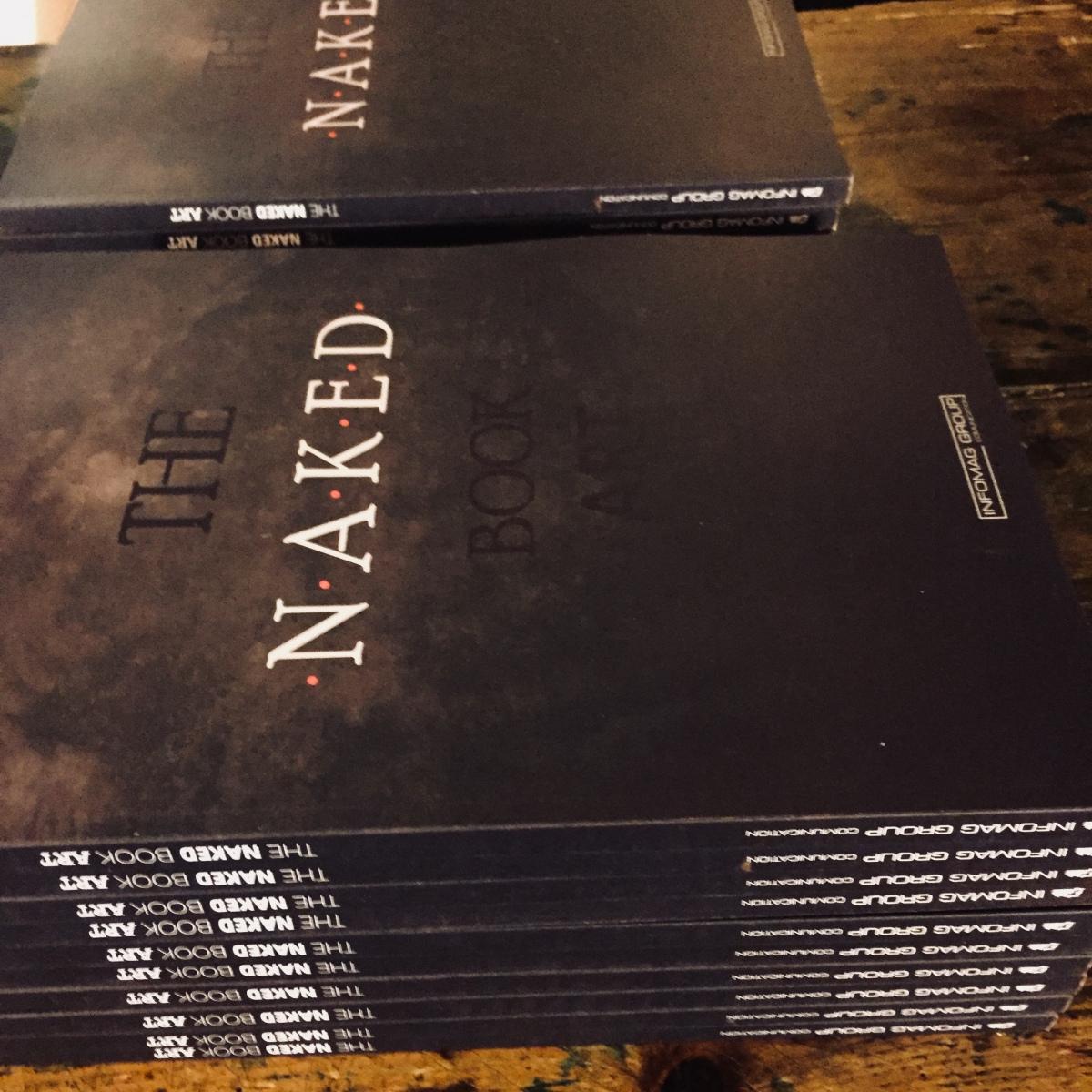 Ya a la venta en librerías el libro The Naked Art Book
